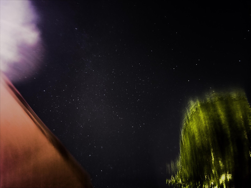 """""""Deep Sky"""" stack of 10/09/12 exposures.  20 second exposures at ISO 800 for a bit over an hour."""