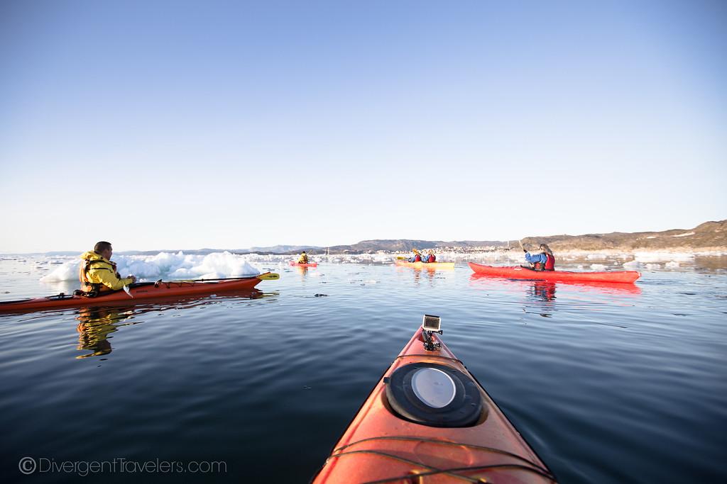 Ilulissat - Kayaking Greenland - Lina Stock