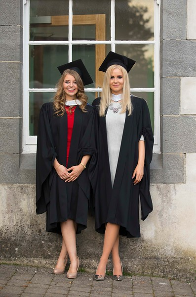 02/11/2016. Waterford Institute of Technology (WIT) Conferring Ceremonies November 2016. Pictured Joanne Claxton from Abbeyleix Co.  Laois and Cathy Hunt, Duncormick, Co. Wexford awho graduated Bachelor of Science in Applied Health Care. Picture: Patrick Browne