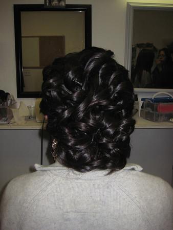 Wedding Hair Trial 2010