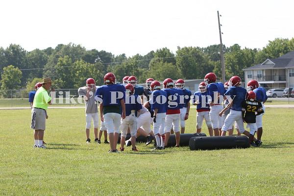 Ridgway Football Practice 2013