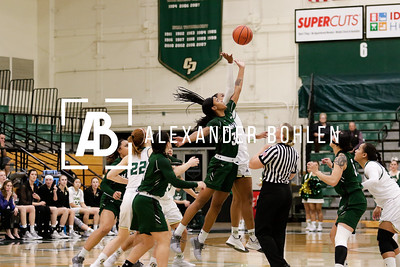2018 Cal Poly WBB vs Hawaii
