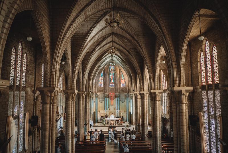 B&M | Intimate Wedding at Christ the King Cathedral | Nha Trang