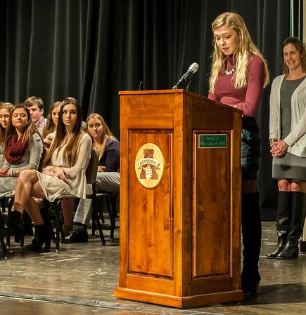 Aurora High School NHS Induction 2018