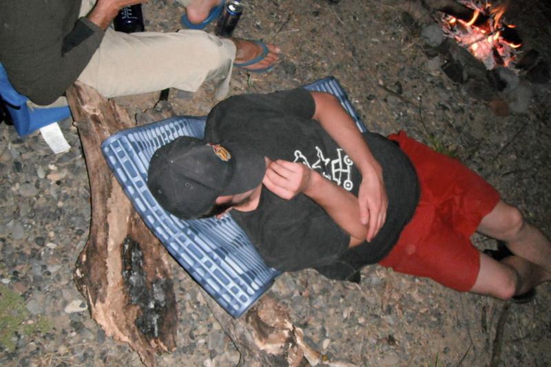 Let's mark that day. Ryan sleeps, everybody else is awake.