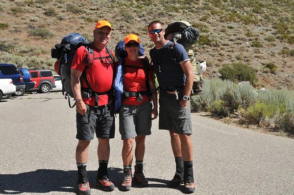 Middle Palisade Peak August 15-17, 2010