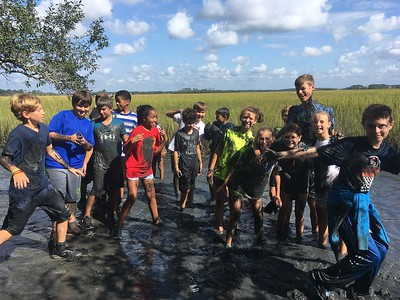Grade 6 Trip to Barrier Island