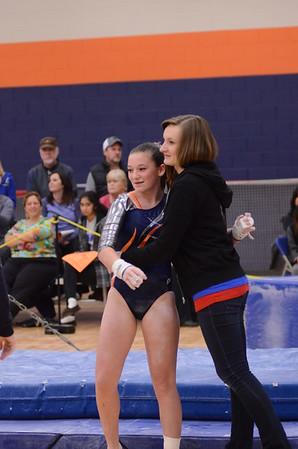 Oswego girls Jv gymnastics 2014