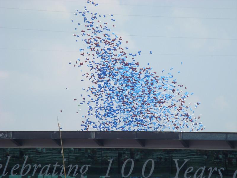Balloon relase