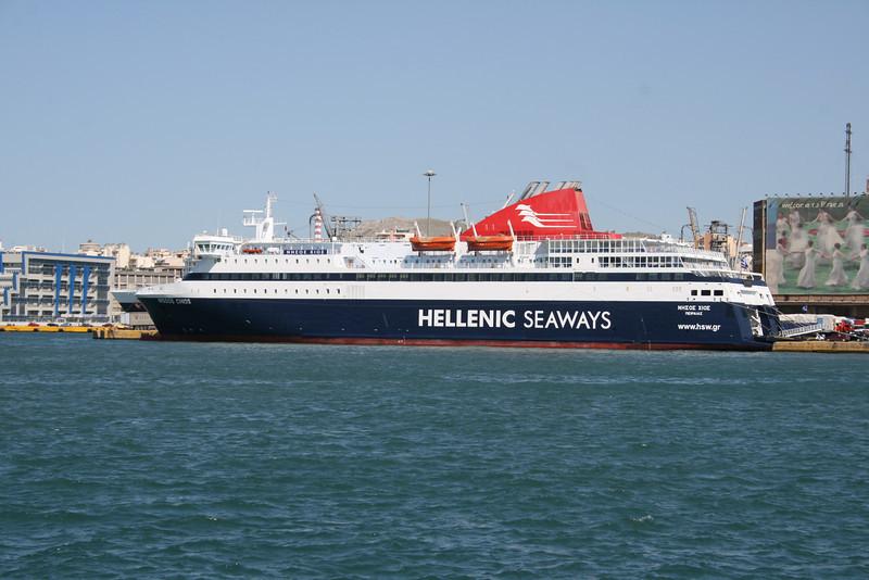 2008 - F/B NISSOS CHIOS in Piraeus.