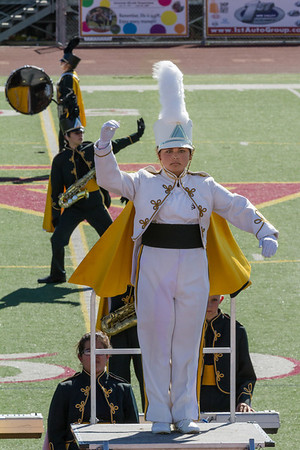 Cabrillo High School Band and Colorguard