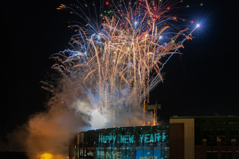 New Years 2020, Lambeau Field Green Bay, WI