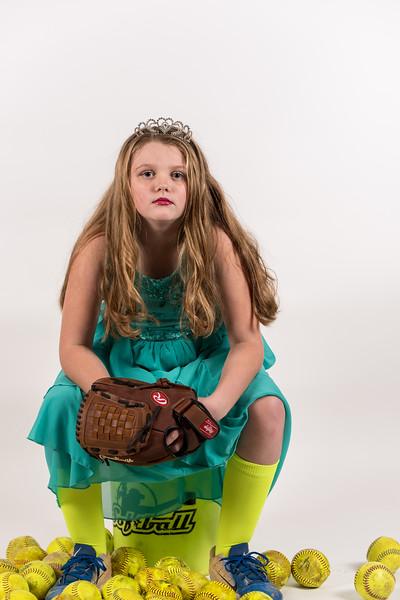 Addison- Softball Princess