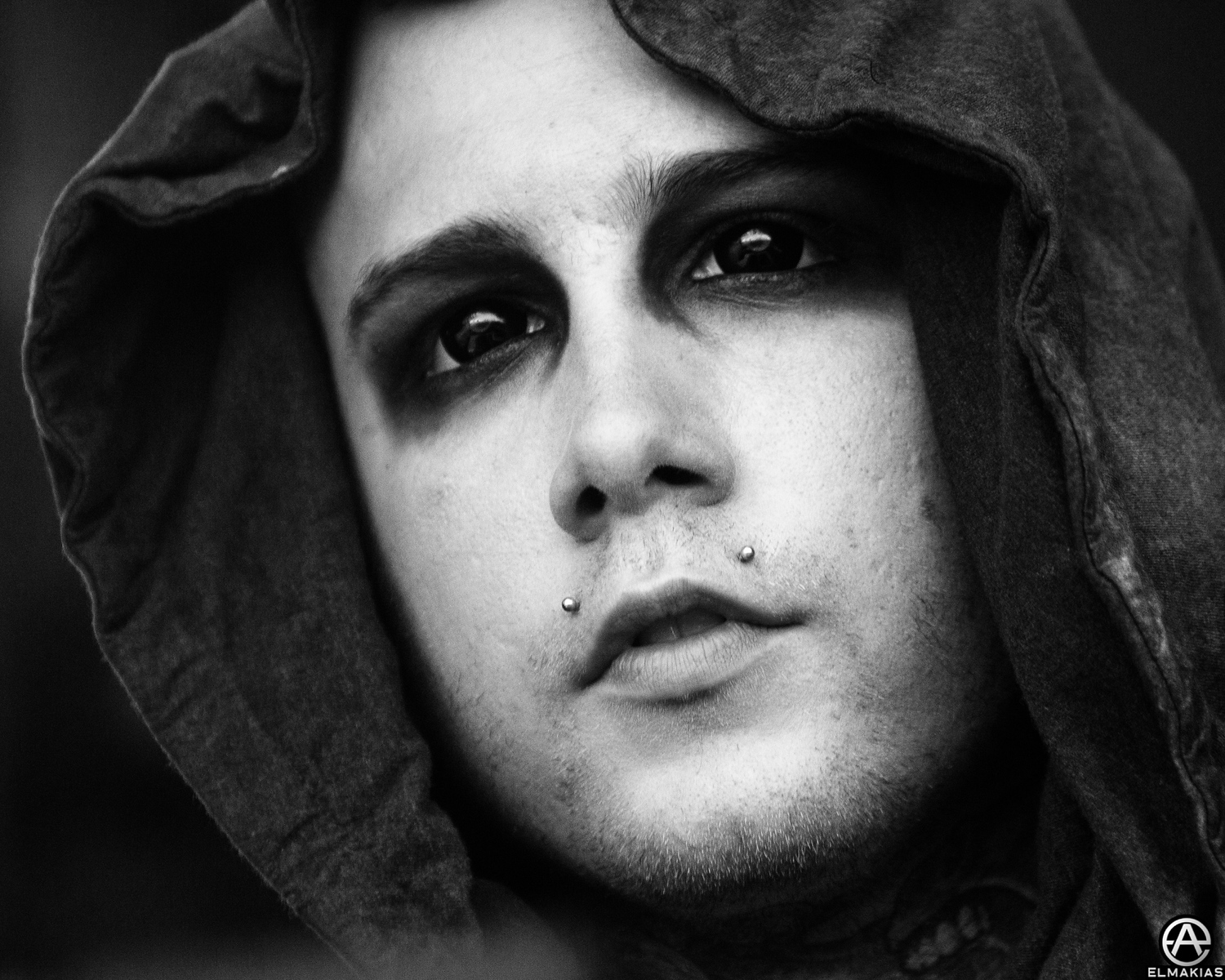 Onstage Portait - Joshua Balz of Motionless In White