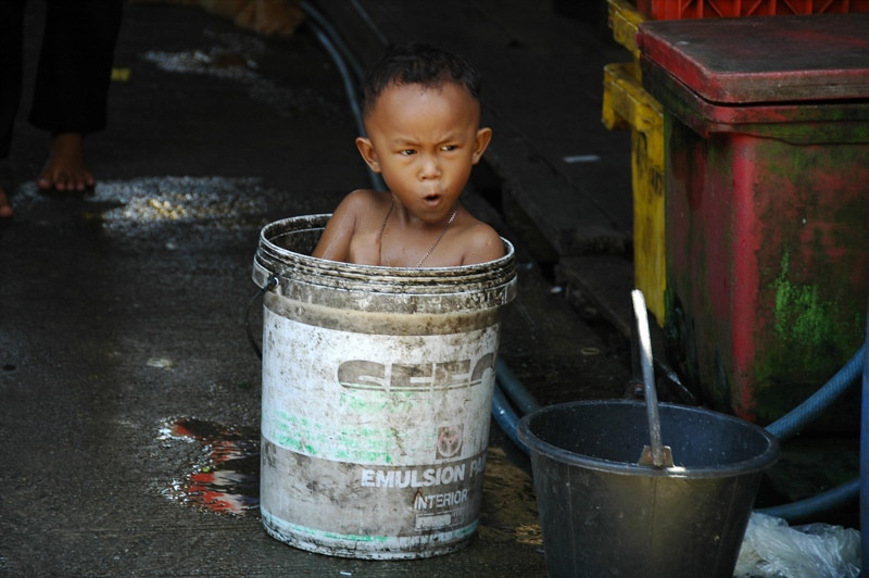 Bucket Bath - Phang Nga, Thailand