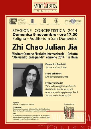 2014/11/09 Zhi Chao Julian Jia