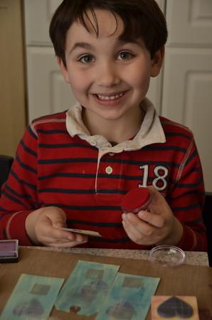 02-12 Valentine Crafting