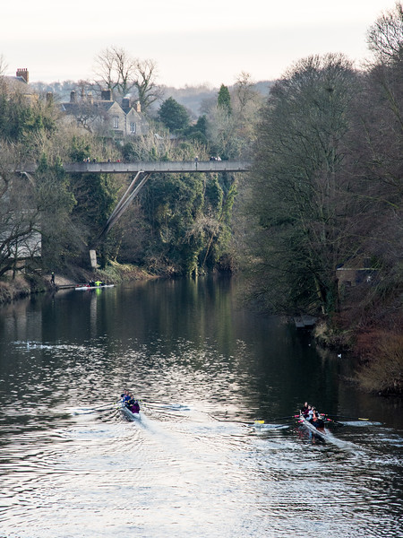 Rowing on the River Wear in Durham