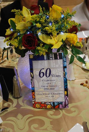 Fr. Mampre A. Kouzouian's 60th Anniversary Celebration Banquet, May 11, 2018
