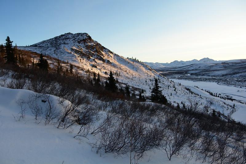 Light on the Hills