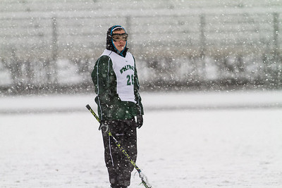 Park Girls Varsity vs Roseville Scrimmage- Snow Storm!