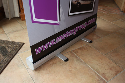 Roll up banners & Pavement Signs