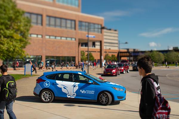 180300 Parking and Transportation, UB Zip Car, North Campus