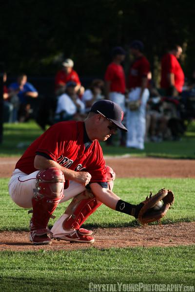 Kitchener Panthers at Brantford Red Sox July 12, 2013