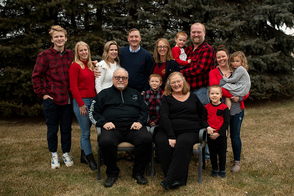 Leistikow Family | Wisconsin Winter Family Photography