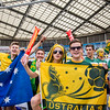 Green, Gold and Blue | 2015 Asian Cup Final Match | Australia vs South Korea | Stadium Australia | January 31, 2015 in Sydney, Australia