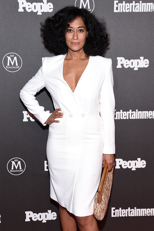 . NEW YORK, NY - MAY 16:  Actress Tracee Ellis Ross attends the Entertainment Weekly & People Upfronts party 2016 at Cedar Lake on May 16, 2016 in New York City.  (Photo by Dave Kotinsky/Getty Images for Entertainment Weekly & People )