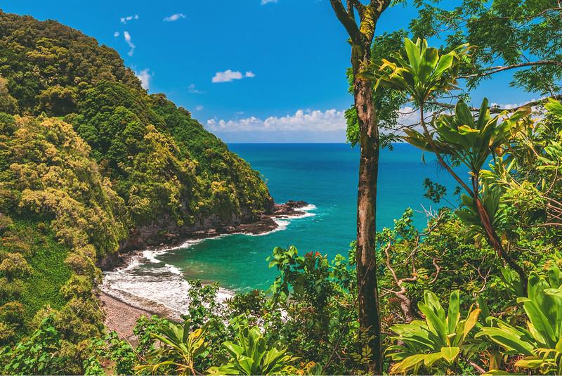 Honomanu Beach - best beaches in maui