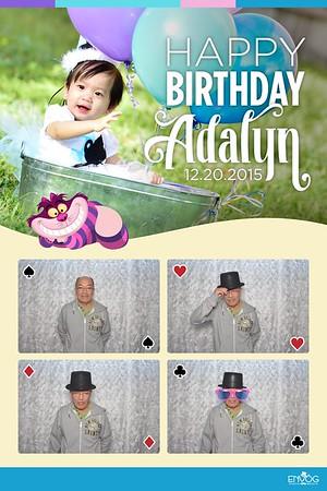 Happy Birthday Adalyn (prints)