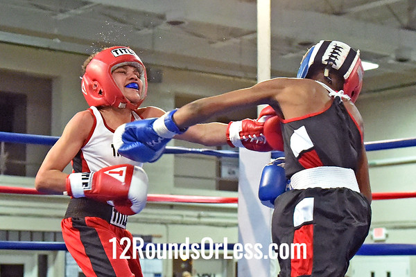 Bout 9 Tyshawn Humphries, Untouchable BA -vs- Tyler Duncan, Unattached, 80 lbs, Intermediate