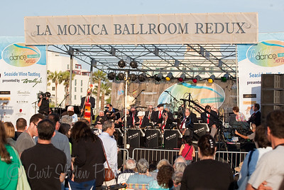 Big Band Alumni at the Santa Monica Pier