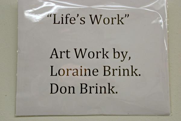 2014 02 08:  Gallery Show, Don & Loraine Brink