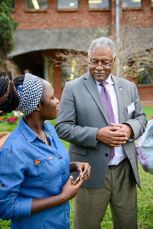 Bishop Trimble and First Lady Grandberry-Trimble visit Africa University