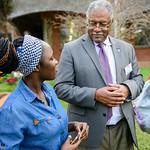 Bishop Trimble and First Lady Grandberry-Trimble visit Africa University