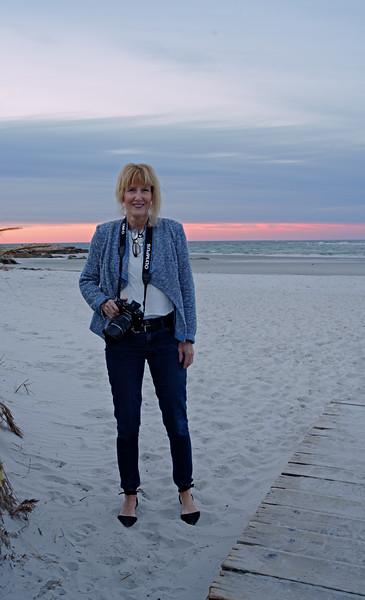 Marnie on Wingaersheek Beach