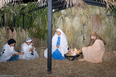 2007 Youth Group Living Nativity