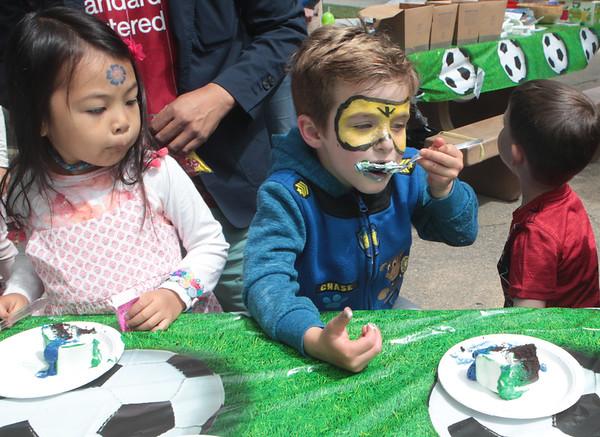 Justin's 5th Birthday at Larkey Park
