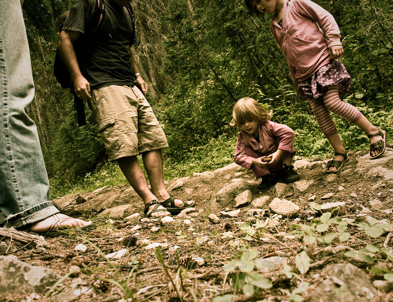 Fun - Day 1<br /> <br /> Hiking with the family. I have no clue what Sammie and Ellie found, but I'm sure it was really cool!