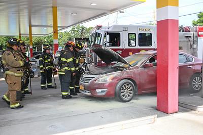 Mastic- Vehicle Fire Montauk Native Gas {2021.08.15}