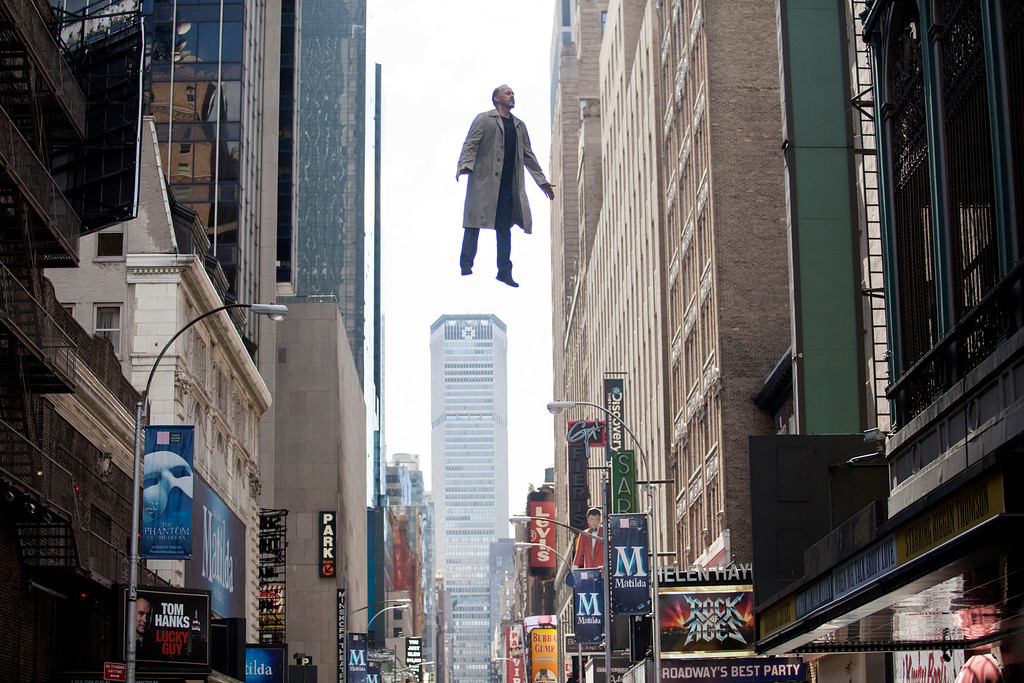 """. In this image released by Fox Searchlight Pictures, Michael Keaton portrays Riggan in a scene from \""""Birdman.\"""" The film was nominated for a Golden Globe for best comedy on Thursday, Dec. 11, 2014. The 72nd annual Golden Globe awards will air on NBC on Sunday, Jan. 11. (AP Photo/Fox Searchlight, Atsushi Nishijima)"""