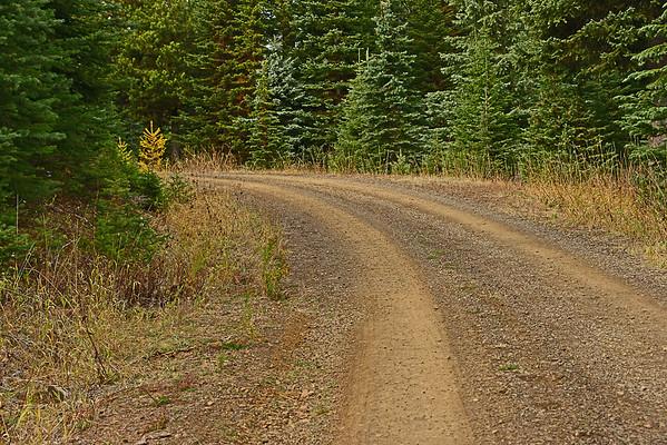 Horse-shoe Prairie Loop to Umatilla Rim Trail, 10-28-15