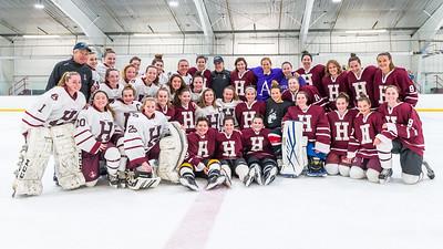 2018-2019 HHS GIRLS HOCKEY ALUMNI GAME