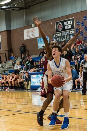 2018-02-16 Dixie HS Basketball vs Cedar City - JV Game
