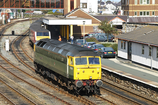 17th September 2004: Crewe to Holyhead