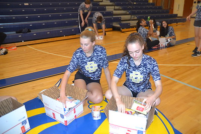 DCD students assist overseas service members