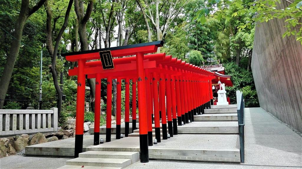Ikuta Shrine in Kobe City
